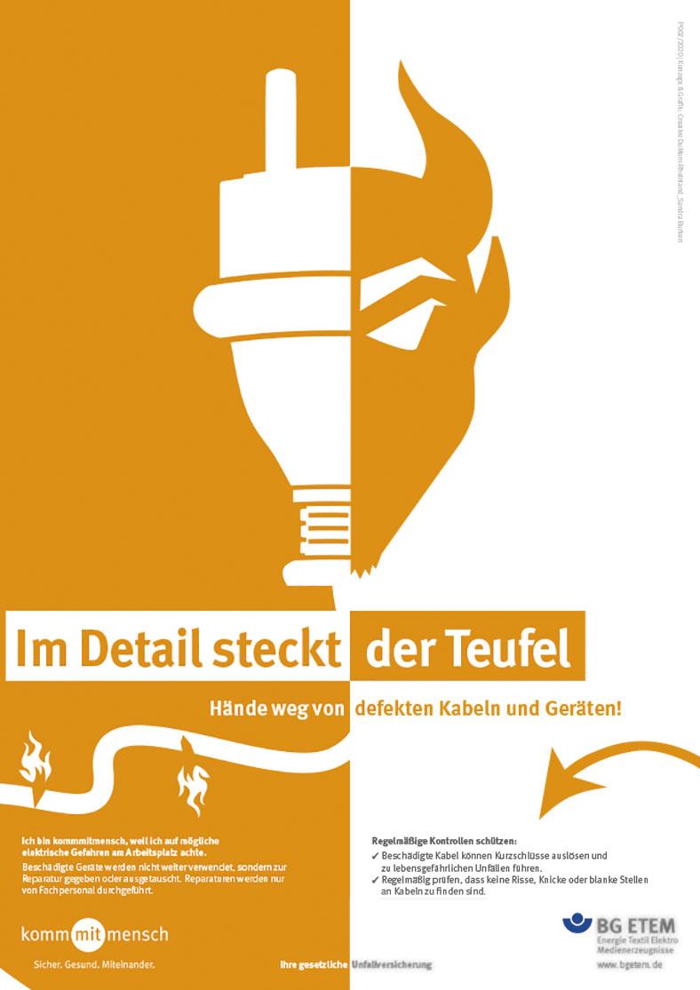 Plakatkampagne 2020: Motiv Kabel