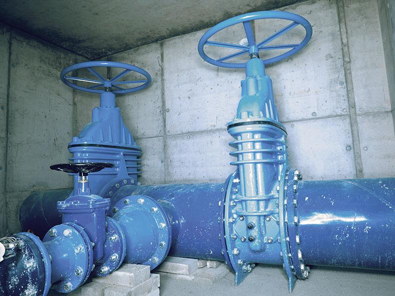 Instandhaltungsarbeiten Wasserversorgungsnetz