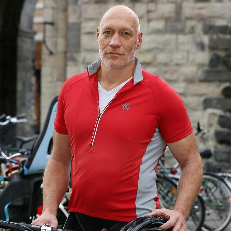 Fahrradhelm: Dirk Hammers