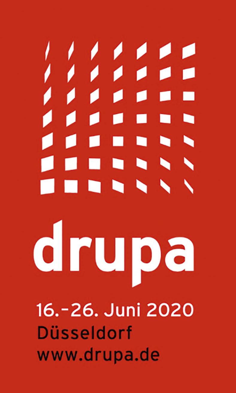 drupa 2020: Messeplakat