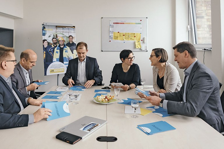 kommmitmensch-Dialoge: Vattenfall-Management-Team