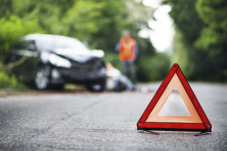 Wegeunfälle wegen Müdigkeit: Unfall