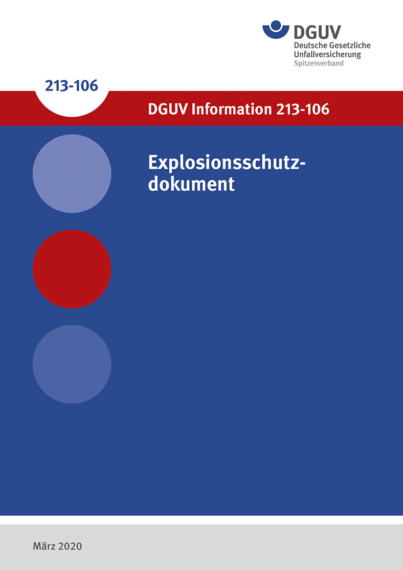 DGUV Information 213-106: Cover