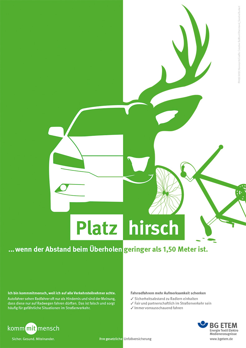 Plakate 2019: Platzhirsch